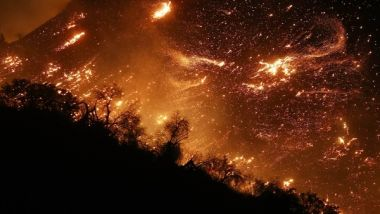 El incendio forestal que arrasa con California
