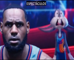 Sale la primera imagen de LeBron James en Space Jam 2